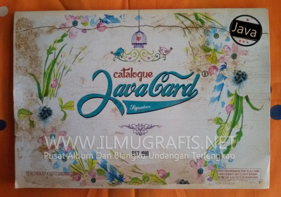 Album Undangan Java Signature