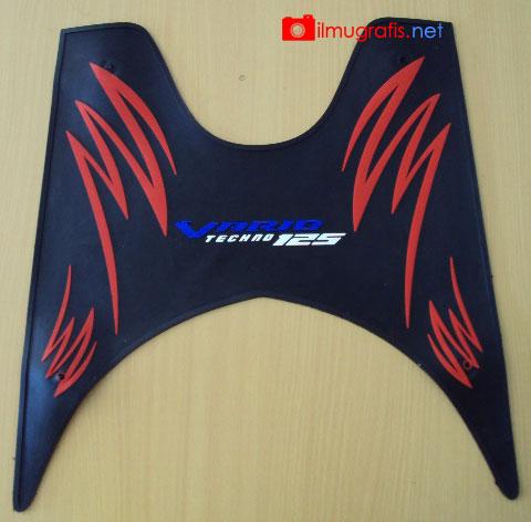 Karpet Motor Honda Vario Tecno Hitam Silver Karpet Motor Matic Source. Karpet ...