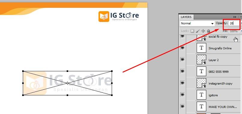 Membuat Desain Frame untuk Postingan Sosmed