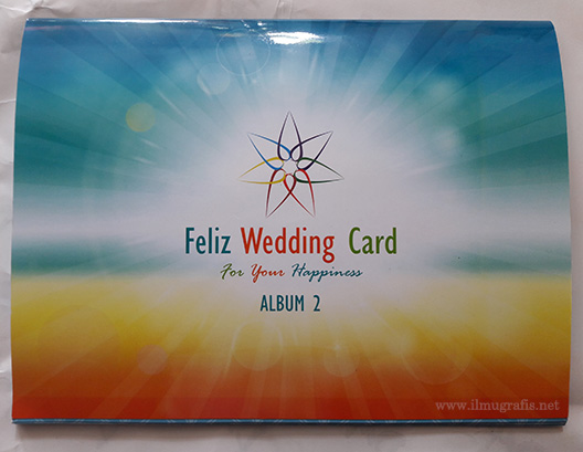 Feliz Wedding Card