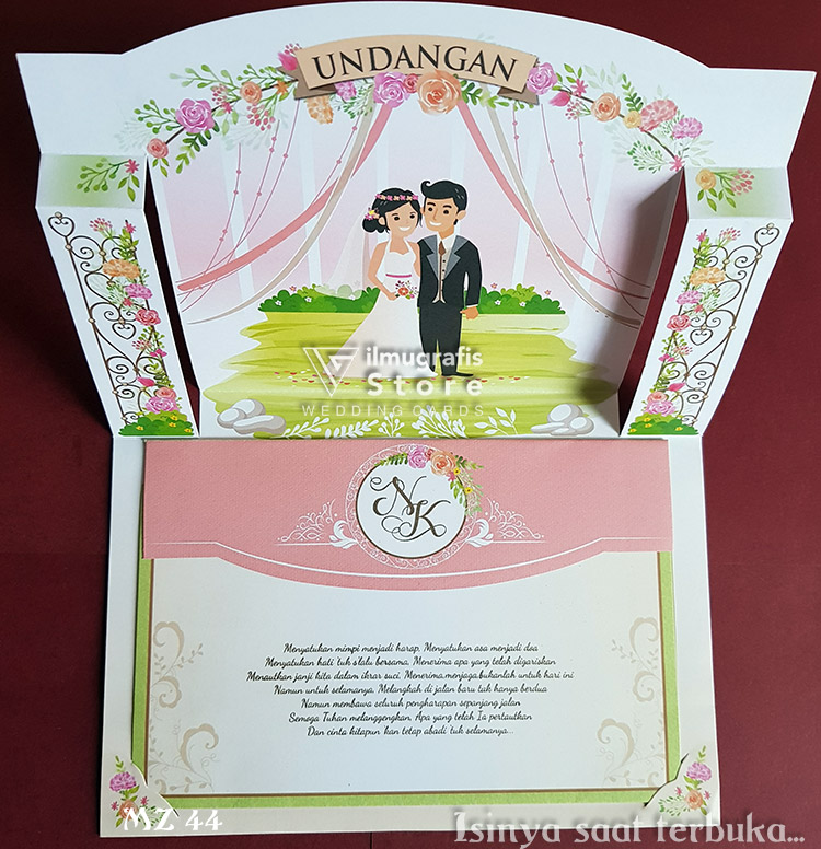 Undangan Pop Up Stage of Love